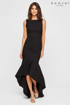 Damsel In A Dress Black Leela Maxi Dress