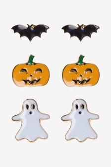 Halloween Stud Earrings 3 Pack