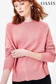 Oasis Pink Rebecca Knit Jumper
