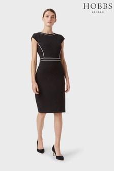 Hobbs Black Cordelia Dress