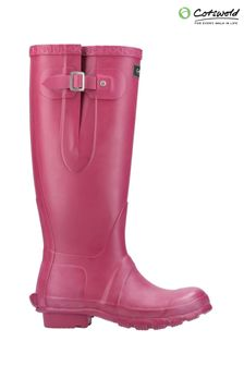 Cotswold Pink Windsor Tall Wellington Boots