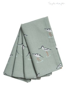 Set of 4 Sophie Allport Coastal Birds Napkins