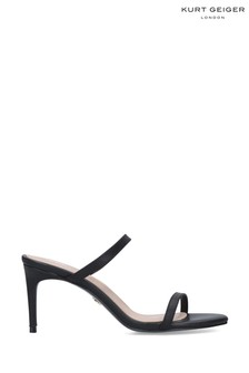 Kurt Geiger London Black Petra Sandals