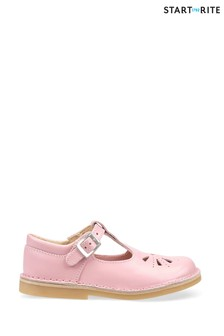 Start-Rite Lottie Pink Leather Shoes