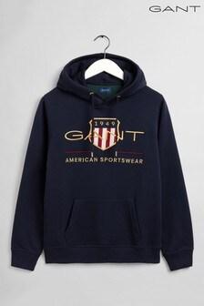 Gant Blue Archive Shield Hoody
