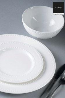 12 Piece Carnaby White Fitzrovia Dinner Set
