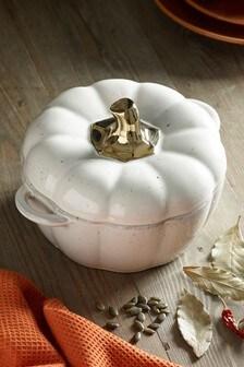 Pumpkin Medium Casserole Dish Cookware