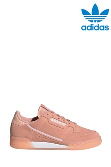 adidas Originals Pink Continental 80 Youth Trainers