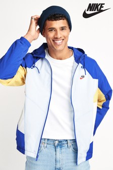 Nike Heritage Essential Blue Woven Jacket