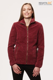 Regatta Red Halima Full Zip Fleece Jacket