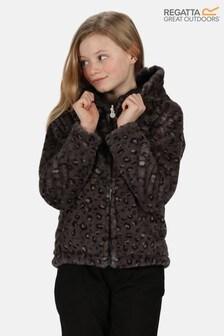 Regatta Black Spyra Reversable Baffle Jacket
