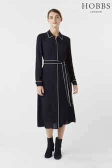 Hobbs Navy Annika Dress