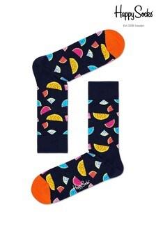 Happy Socks Socken mit Wassermelonen-Muster