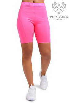 Pink Soda Malibu Cycle Shorts