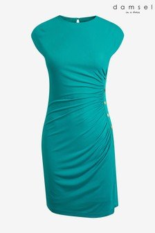 Damsel In A Dress Blue Kimi Stud Jersey Dress