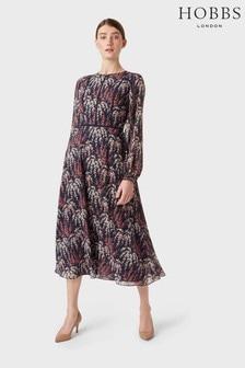 Hobbs Blue Eden Tea Dress