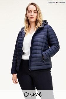 Tommy Hilfiger Blue Curve Essential Lightweight Packable Down Jacket