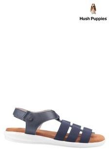 Hush Puppies Blue Hailey Gladiator Sandals
