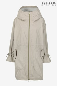 Geox Womens Pisa Cream Parka