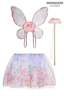 Monsoon Natural Watercolour Meadow Dress Up Set