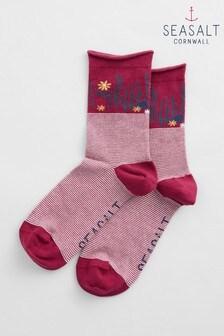 Seasalt Red Women's Arty Socks