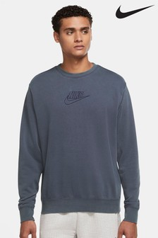 Nike Essential Wash French Terry Crew Top