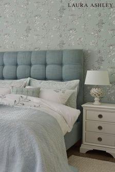 Laura Ashley Duck Egg Elderwood Wallpaper