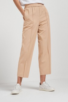Premium Tailored Straight Trousers