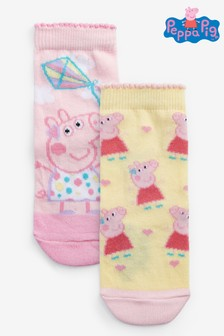 2 Pack Peppa Pig™ Ankle Socks