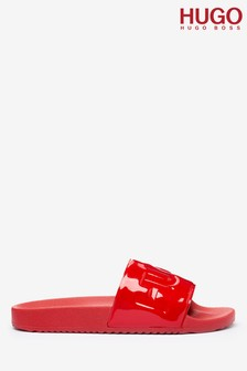HUGO Time Out Patent Sliders