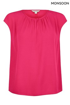 Monsoon Pink Sleeveless Sustainable Top