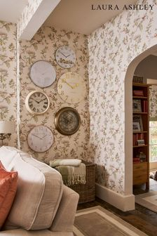 Laura Ashley Natural Elderwood Wallpaper