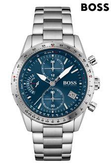 BOSS Pilot Edition Chrono Stainless Steel Watch