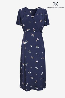 Crew Clothing Blue Georgie Dress