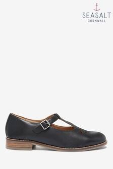 Seasalt Black Penpoll Shoes