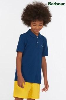 Barbour® Boys Tartan Polo Shirt
