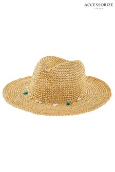 Accessorize Natural Stetson Hat