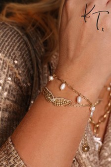 Kate Thornton Guardian Angel Double Row Bracelet Set
