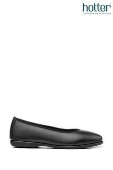 Hotter Skylar Slip On Ballerina Shoes
