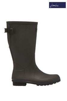 Joules Black Fieldmoore Tall Wellies With Neoprene Lining