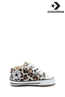 Converse Cheetah Crib Trainers