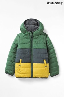 Куртка-жилет колор блок White Stuff