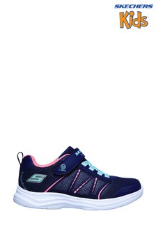 Skechers® Blue Glimmer Kicks Shimmy Brights Trainers
