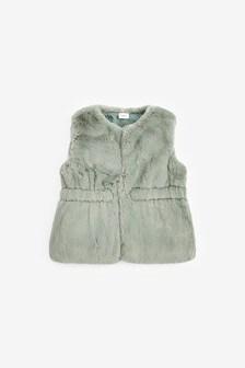 Faux Fur Gilet (3mths-7yrs)