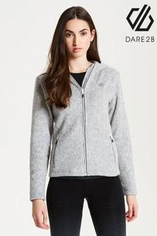 Dare 2b Grey Forerun Full Zip Sweater