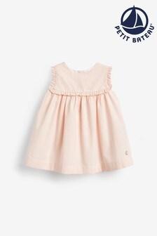 Petit Bateau Pink Striped Dress