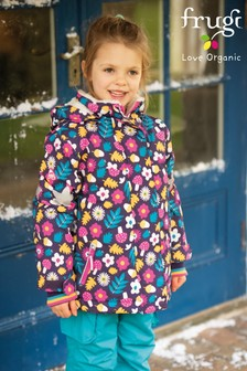 Frugi Purple Recycled Materials Ski Jacket