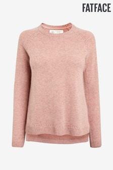 FatFace Pink Cashmere Jumper