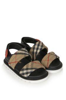 Burberry Kids Beige Sandals