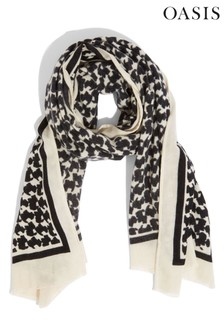 Oasis Dogstooth Scarf